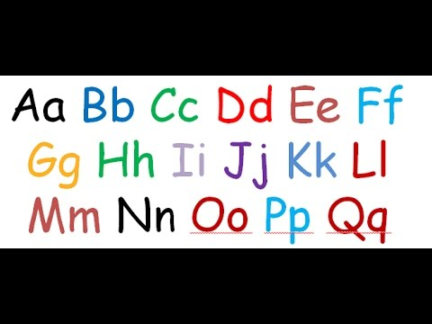 abc phonics song for kids | tracing & writing the letters of the