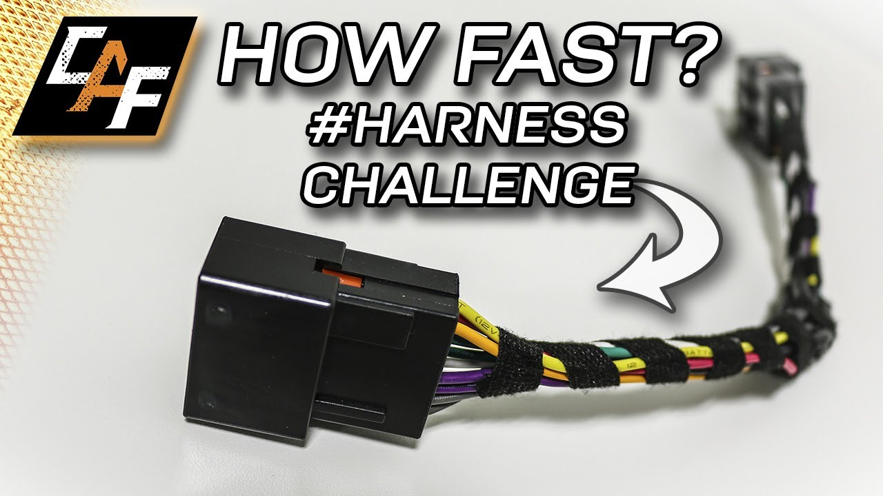 how quick can i wire a harness harnesschallenge [ 1280 x 720 Pixel ]