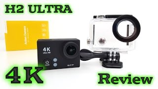 H2 Ultra 4K Action Camera REVIEW - Great value for it's price!