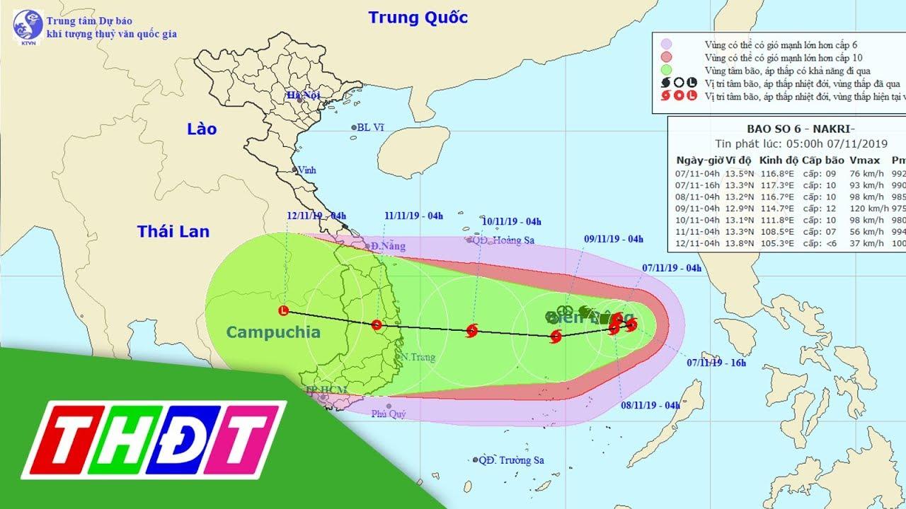 Xuất hiện 4 cơn bão liên tiếp khiến bão số 6 diễn biến rất phức tạp | THDT