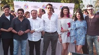 Bollywood celebs planting trees   Sunny Leone, Arjuna Rampal,Arshad Warsi