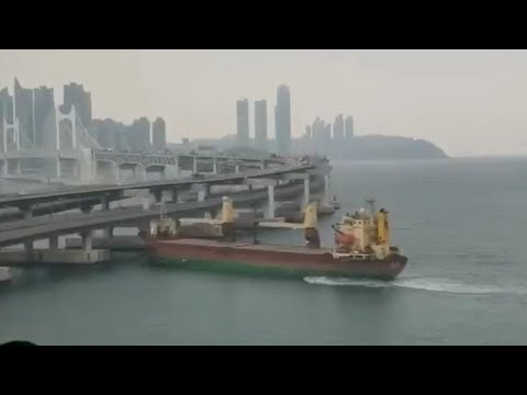 MORNING NEWS - VIDEO! Drunk Russian Steers Ship Into Bridge!