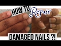 HOW TO REPAIR AND GROW WEAK & DAMAGED NAILS AFTER ACRYLICS