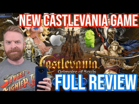 Castlevania Grimoire Of Souls Review: Mobile Game For Android And IOS