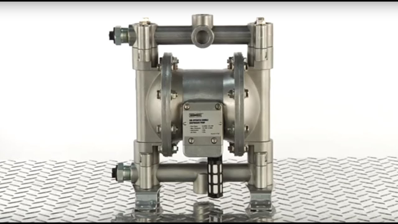 Roughneck Air-Operated Double Diaphragm Pump - 12 GPM, 1/2in  Inlet & Outlet