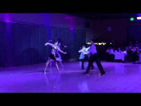 Kinsley & Michelle, Tyler & Angelica: Cha Cha @ DV's Christmas Ball 2015