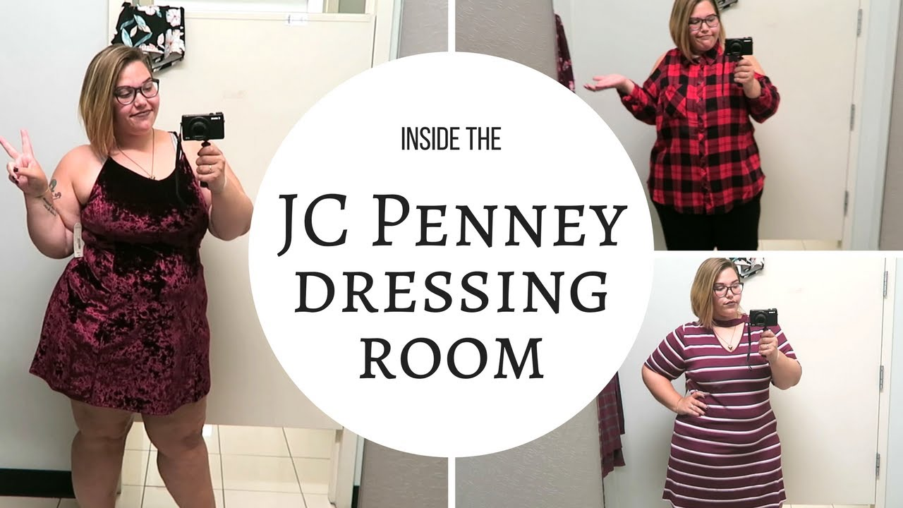 2c9a64002 Inside the JC Penney Dressing Room | Junior Plus Size Style - YouTube