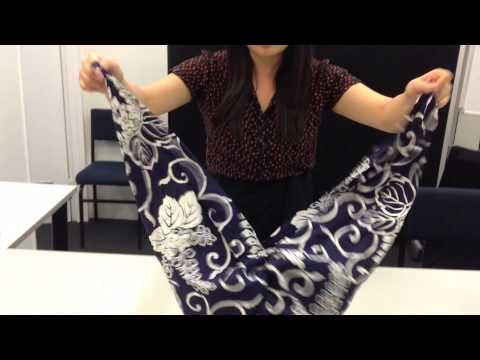 How to make a Furoshiki handbag