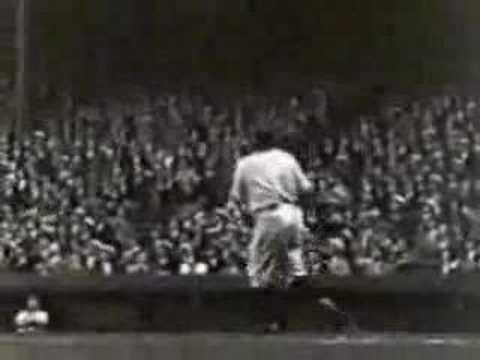 Babe Ruth 60th Homerun - 1927