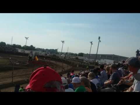 USAC Midget Qualifying Part 1/2  Kokomo Speedway