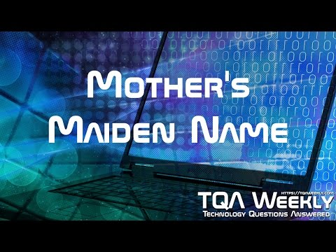 Mother's Maiden Name