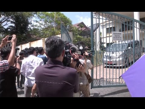 Protesters at DPRK Embassy in Kuala Lumpur Demand Respect From Pyongyang