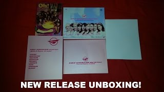 SNSD New Release Unboxing - Girls