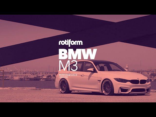 NEW* BMW M3 (F80) - Rotiform LAS-R