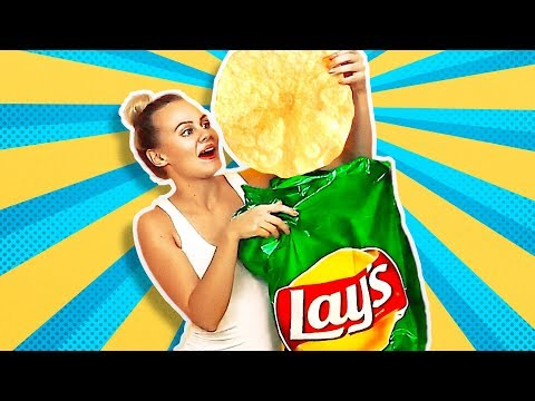 Thumbnail: 38 HILARIOUS PRANKS AND CRAFTS || GIANT LAY'S CHIPS