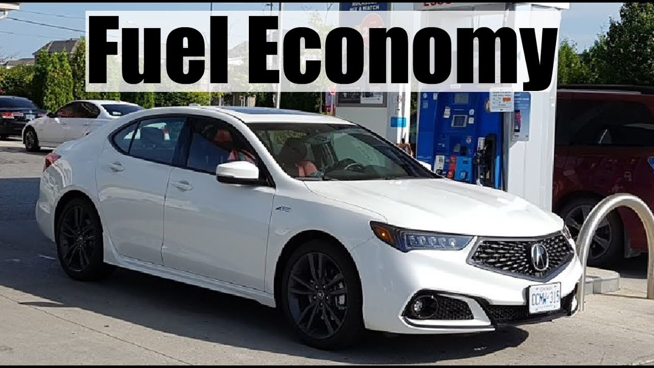 2018 Acura Tlx Fuel Economy Mpg Review Fill Up Costs Youtube