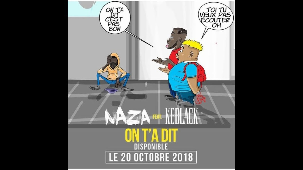 keblack naza on ta dit