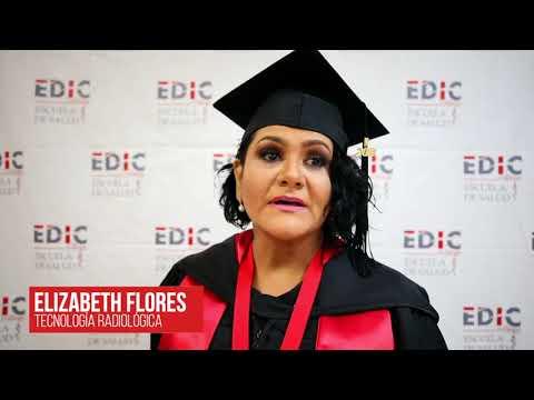 Testimonial de Elizabeth Flores en Graduacio?n EDIC College 2019