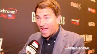 """WILDER WAS TERRIBLE!"" EDDIE HEARN ON WILDER-FURY 2 COSTUME EXCUSE, JOSHUA-FURY TALKS, CANELO"