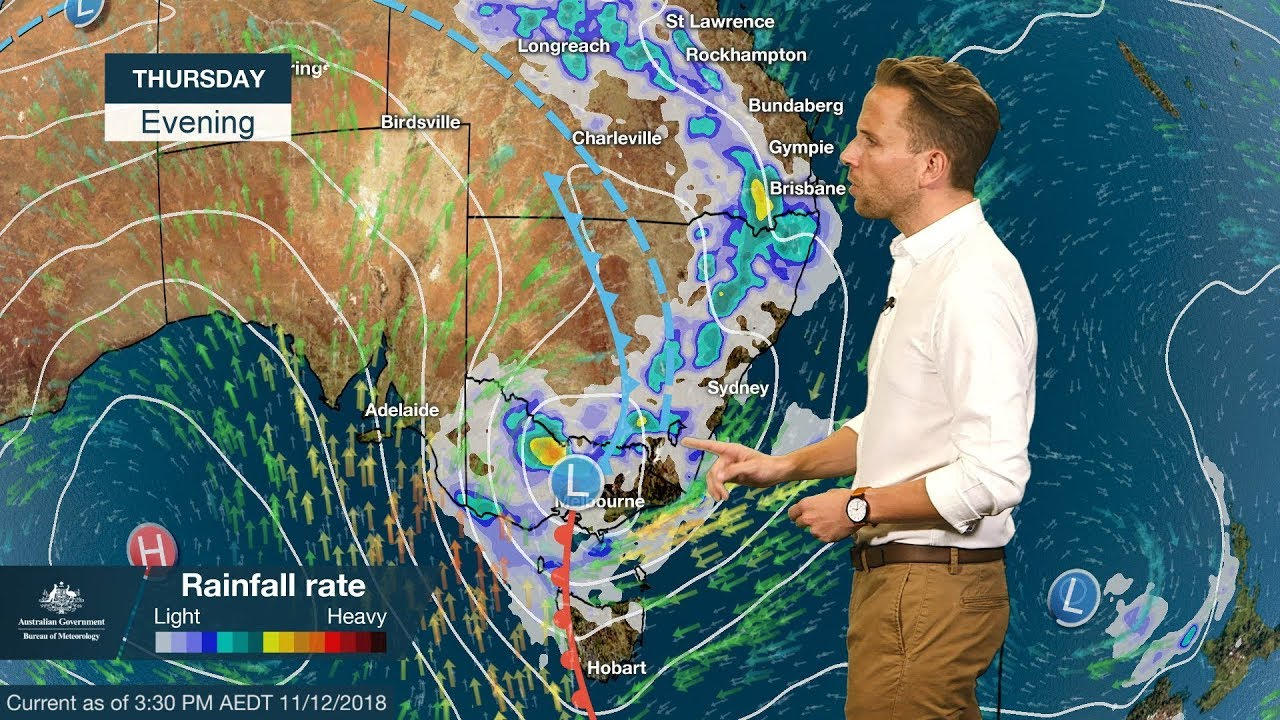 Extreme weather on the way as tropical cyclone, southern low