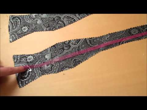 Missa By Design Diy  Bow Tie  Youtube