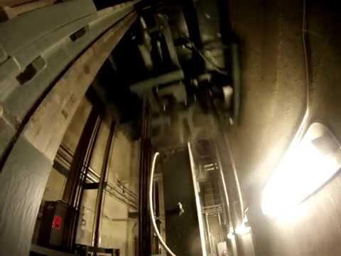 Elevator Buffer Crash Test