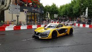 Formule 1 renault et RS 01 en exhibition écoutez le bruit des moteurs(3)