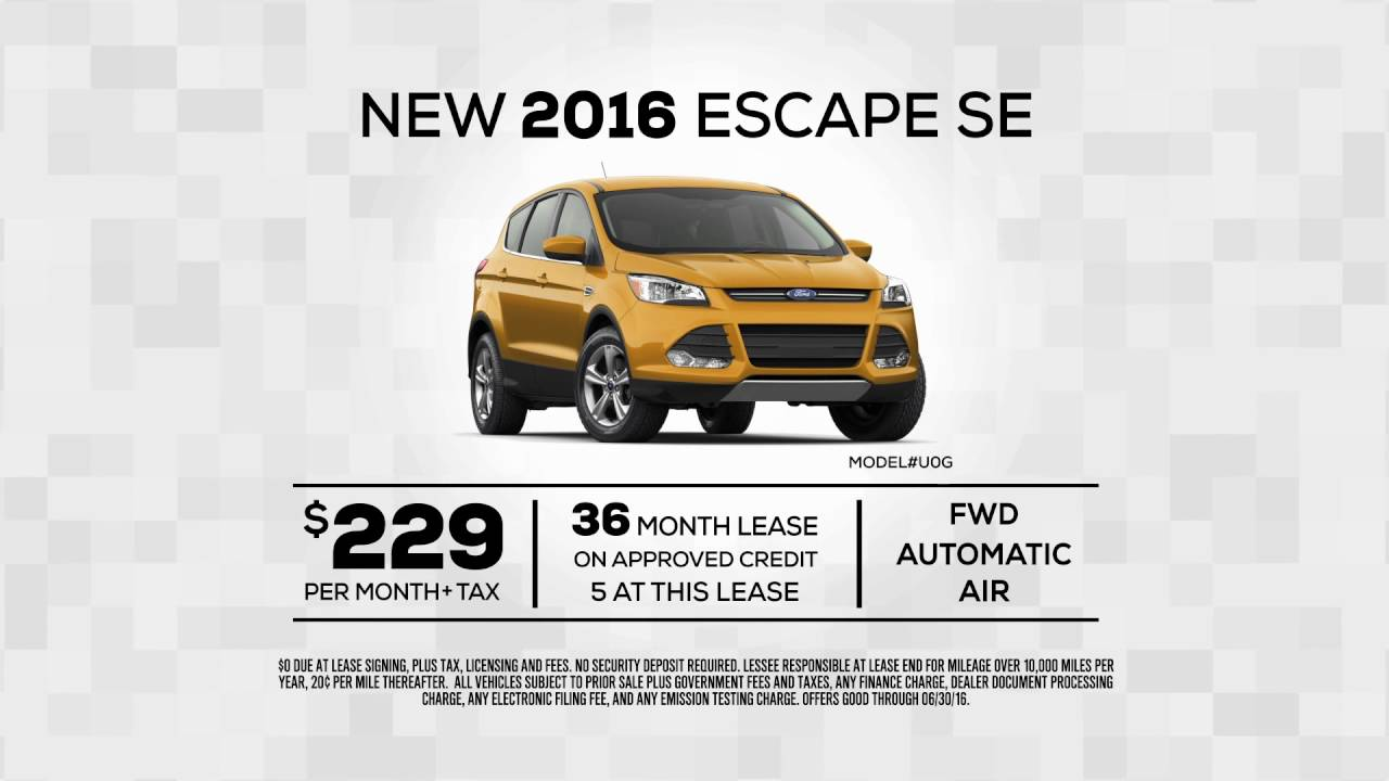 2016 ford escape se special offer from ford of orange orange county