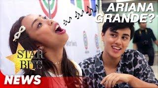 Maymay Entrata, gustong bumirit ng mala Ariana! | Maymay Entrata, Edward Barber | Star Bits screenshot 5