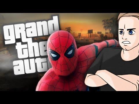 ЧЕЛОВЕК-ПАУК В ГТА / Обзор мода GTA San Andreas: Человек-паук