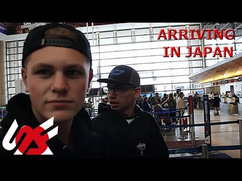 ARRIVING IN JAPAN And STOPPED BY AIRPORT SECURITY