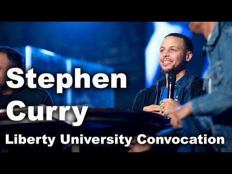 Stephen Curry - Liberty University Convocation