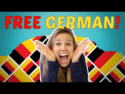 LEARN GERMAN FOR BEGINNERS LESSONS 1-50 for FREE 😃😃😃