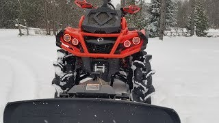 Plowing on assasinators!? Alpine Flex Plow review and use!