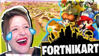 FORTNITE | MARIO KART IN THE FIELD OF CROSS! (Playground)