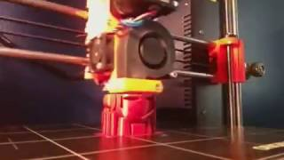 3DHubs Marvin - Variable Height Prusa Slic3r - Timelapse