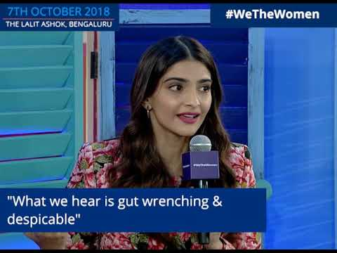 Sonam K Ahuja Talks About India's #MeToo Movement at We The Women 2018 in Bengaluru Mp3
