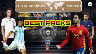 11 NATIONALITIES BRONZE+ & ARGENTINEAN 50 STARS BOX DRAW *PACKS OF THE WEEK* PES 2018 MOBILE