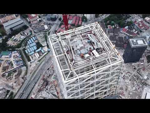 Tun Razak Exchange Video Log 14.10.2018, Kuala Lumpur, Malaysia