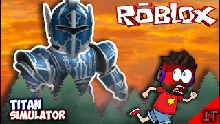 ROBLOX Indonesia #19 Simulatore Titan In Chase GIANTS 😱😱😱