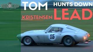9x Le Mans Champ hunts down lead in stunning Ferrari 250 SWB
