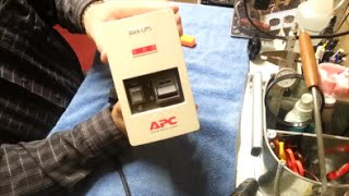 APC Back UPS 500 - Battery Test / Replace & 3D Printer Trial  Crafted Channel