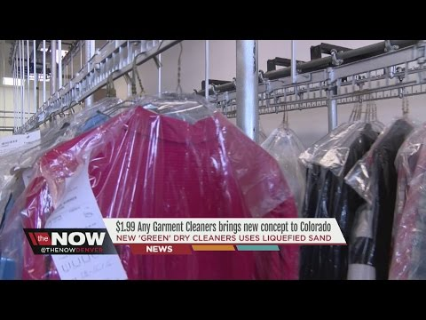 New 'green' dry cleaners uses liquefied sand