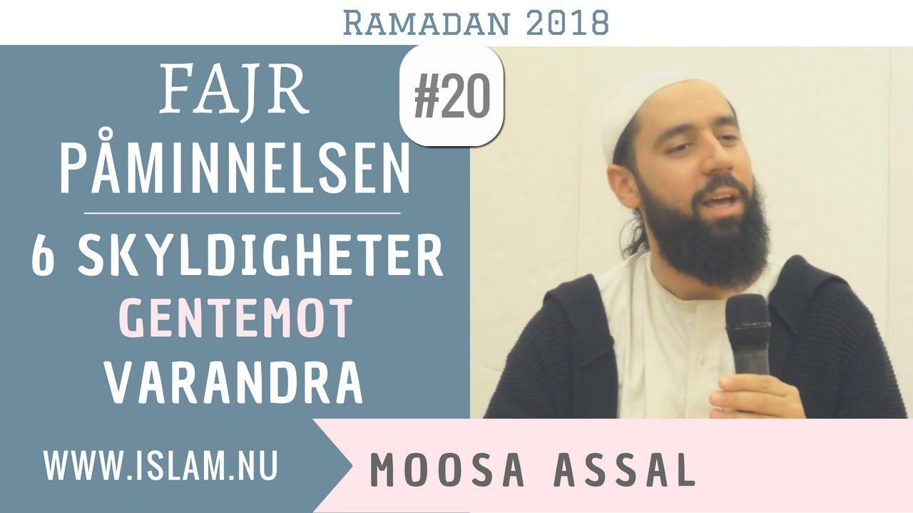 Fajr Påminnelse #20   6 skyldigheter   Moosa Assal