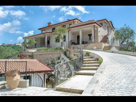 Breathtaking view of Casa Elisabetta Short Lets in Caposele (Campania region, Italy)