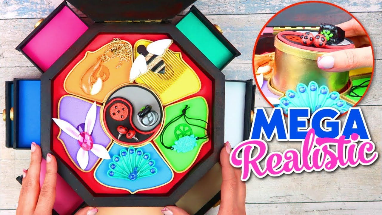 Diy Tutorial Master Fu Jewelry Box For All Miraculouses Of Miraculous Ladybug