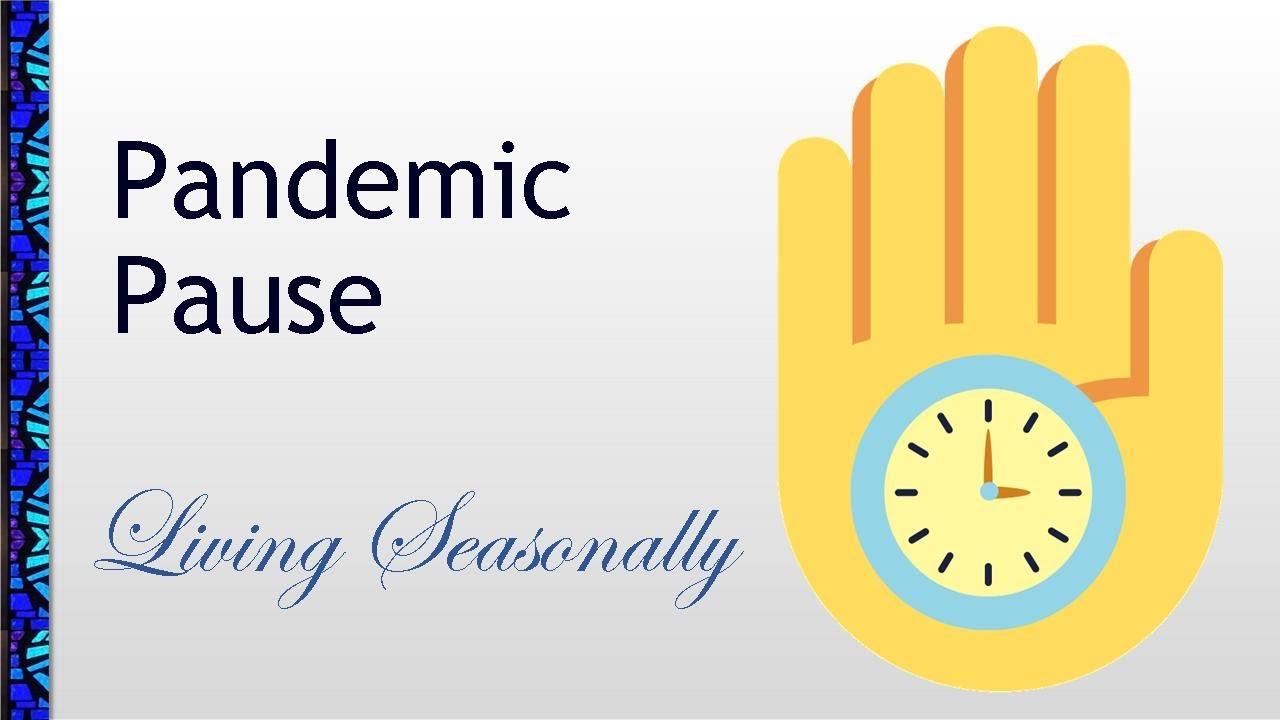 November 22, 2020 Service: Pandemic Pause: Living Seasonally (Replay)