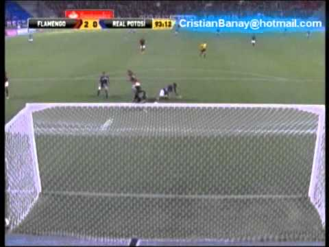 Flamengo vs Real Potosi (2-0) Copa Libertadores 2012 All Goals & Full Highlights (1/2/2012)