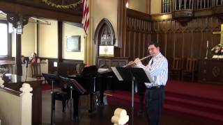 Joshua Toman - Pièce pour flûte seule