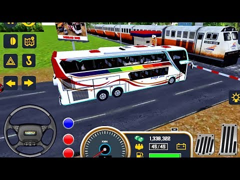 Mobile Bus Simulator 2018 - First Bus Transporter - Bus Driving | Android GamePlay #3